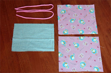 作り方 巾着 裏地 簡単 付き 切り替え